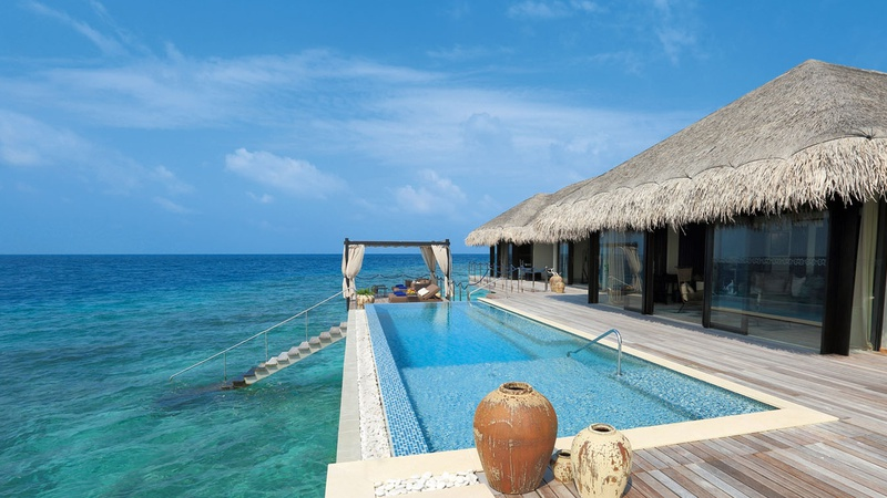 MALDIVES LUXURY VILLA VELAA OCEAN POOL HOUSE