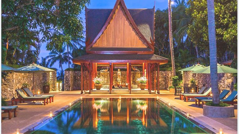 THAILAND LUXURY VILLA AMANPURI OCEAN VILLA