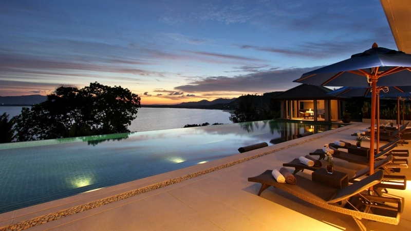 Incredible Infinity Pools  Villa Mangrove