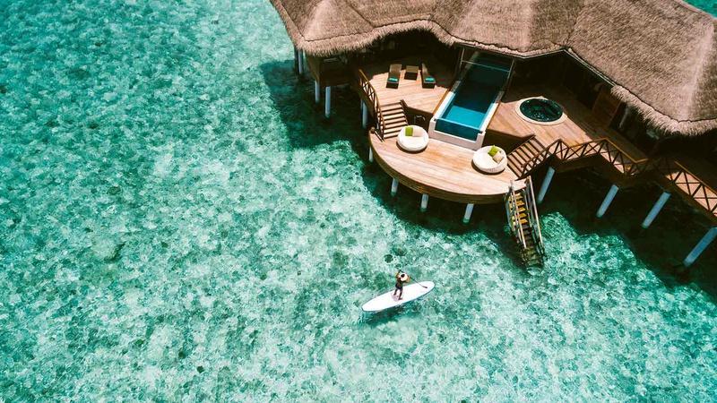 Huvafen Fushi Ocean Pavilion With Pool