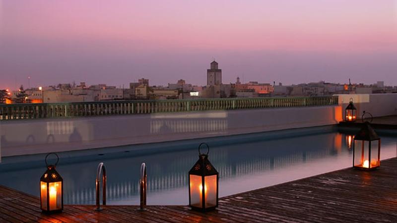 Heure Bleue Palais, Essaouria