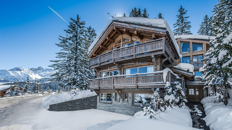 COURCHEVEL LUXURY CHALET EDEN