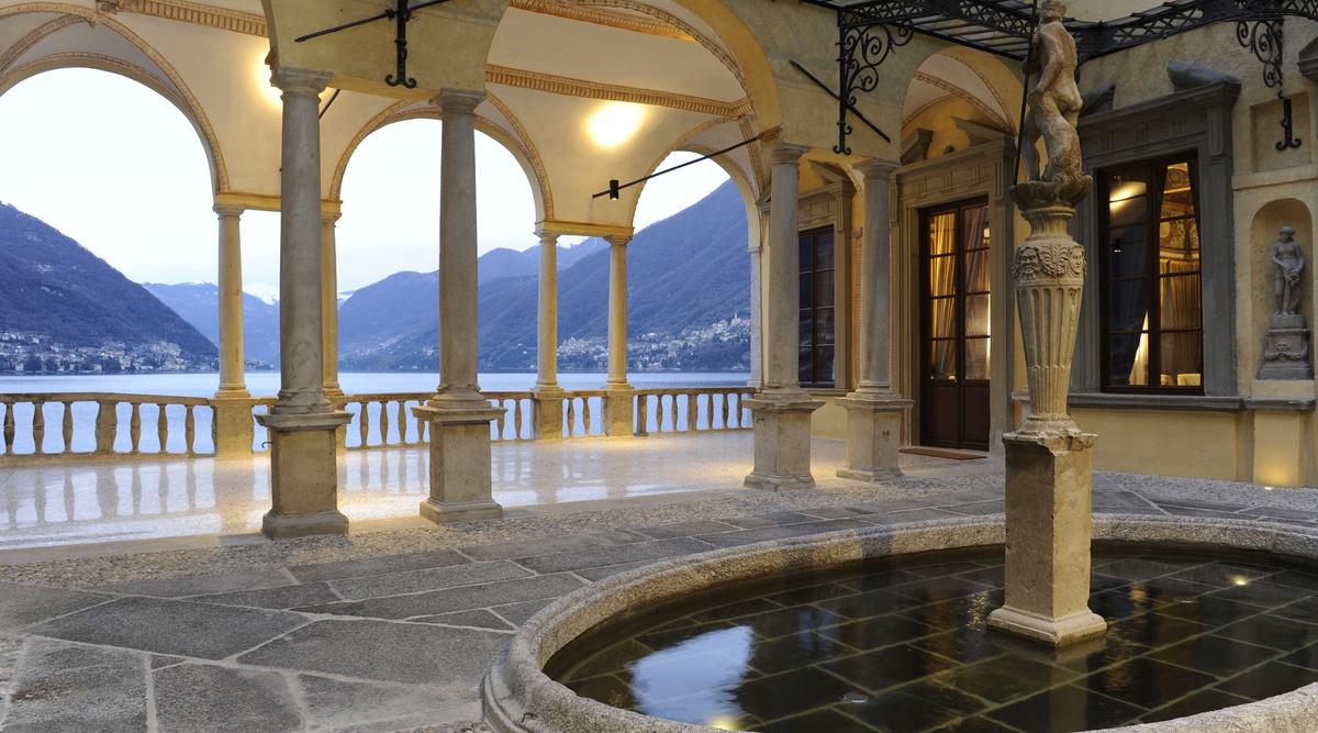 Image result for Villa Pliniana.
