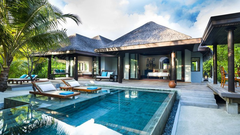 Anantara Kihavah Family Beach Pool Villa