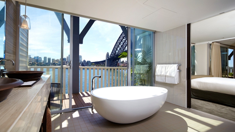 The-Sebel-Pier-One-Sydney---Harbour-View-Balcony-Suite----bathroom