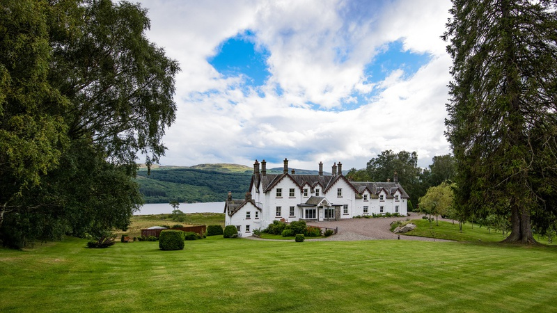 SCOTLAND LUXURY HOLIDAY HOMES STUCKTAYMORE