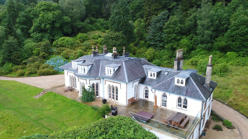 SCOTLAND LUXURY HOLIDAY HOMES STUCKGOWAN